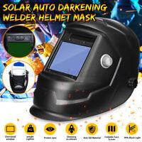 Solar Auto Darkening Welding Adjustable Helmet Mask Grinding Metal Large