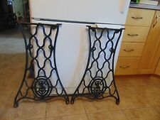 antique sewing machine base /stand/legs   nice  # 4657