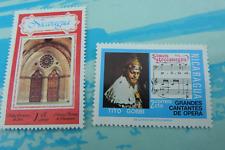 Lot de 2 timbres  Nicaragua Neufs
