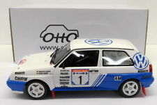 Artículos de automodelismo y aeromodelismo color principal azul de escala 1:18 VW