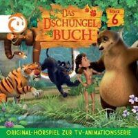 DAS DSCHUNGELBUCH - HÖRSPIEL ZUR TV SERIE (6) CD NEU