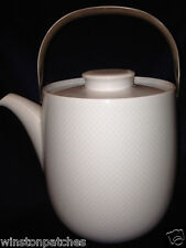 ROSENTHAL CONTINENTAL CENTURY WHITE COFFEE POT & LID STUDIO LINE CHIP ON SPOUT