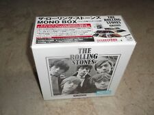 "ROLLING STONES - IN MONO ; Japan-only SHM-CD Box Set with 7"" Sleeves ; New & Sea"