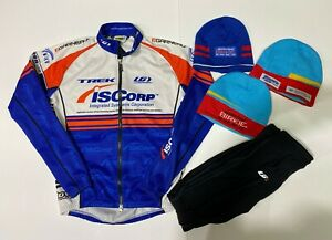 Huge Lot of 20 Cycling Bike Jersey Jackets Clothing Various Sizes Trek L Garneau