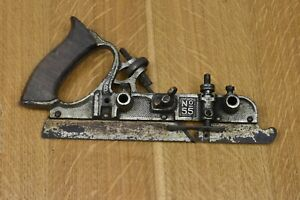 Spare Body for Stanley 55 Combination Plane, plating as photo