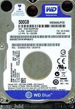 WESTERN DIGITAL SATA 500GB WD5000LPCX-24C6HT0,  EHKTJBB