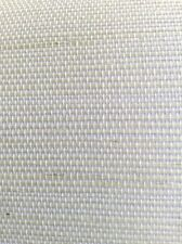 White Natural Grasscloth Wallpaper Linen-Like Texture 488-411 D/R FREE SHIP