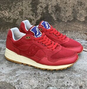 Saucony Shadow 5000 Bodega 70045-4 Red 100% Authentic US 8