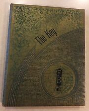 1955 FORT BRANCH INDIANA HIGH SCHOOL YEARBOOK KEY F.B.H.S. SPORTS CLASS PHOTOS