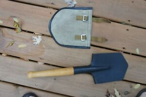 Original Russian Soviet USSR army sapier shovel infantry shovel mpl-50 with case
