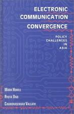 Electronic Communication Convergence: Policy Challenges in Asia, , Used; Good Bo