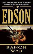Ranch War by J T Edson (Paperback / softback, 2006)