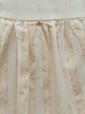 Simply Shabby Chic Kids Peachy Pink And White Striped Twin Bedskirt