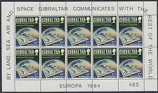 Gibraltar Sheet Stamps