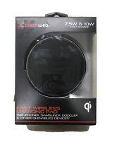 Blackweb 10W Qi Fast Wireless Fast Charging Pad (black)