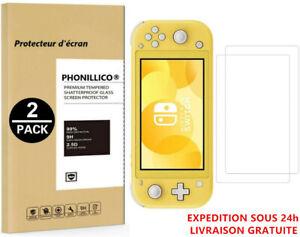 Pack-2 Protection Ecran Pour Nintendo Switch Lite Verre Tremp¨¦ Vitre