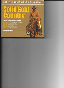 VARIOUS ARTISTS--SOLID GOLD COUNTRY ( 2 CD 2005)