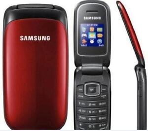 Unlocked Original Samsung GT-E1150 2G GSM Mini-SIM Button Flip Mobile Phone