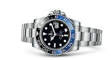 GMT Master II Rolex Armbanduhren aus Edelstahl