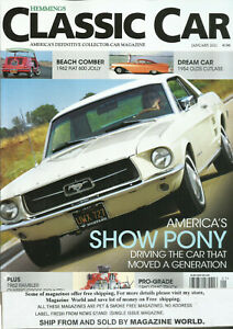 EMMINGS CLASSIC CAR MAGAZINE,   JANUARY, 2021 * VOL. 17 *  ISSUE # 4  *  NO. 196