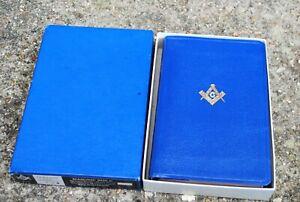 Masonic Presentation Bible  Boxed