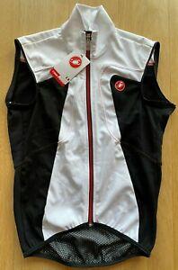 Brand New Original CASTELLI WIND Cycling Jacket/Vest S