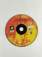 Jeu Playstation 1 PS1 en loose VF  La Route d Eldorado  Envoi rapide et suivi