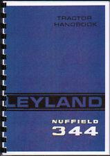 "Leyland ""344"" Tractor Operator Handbook Manual"