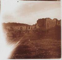Albania Foto Placca da Lente B8 Stereo Positive Vintage Ca 1910