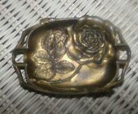 Cendrier art nouveau en bronze