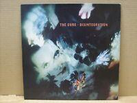 The Cure - Disintegration - LP - 33 RPM - FICTION RECORDS 1989