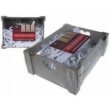 HAMPER CRATE GIFT BOX PRESENT STORAGE BASKET DIY OCCASIONS SET WOODEN WOOD LIKE