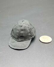 "1:6 Black Baseball Hat Cap 12"" GI Joe BBI Dragon Dam Hot Toys PMC SEAL SWAT"