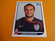 218 DONOVAN USA ETATS UNIS PANINI FOOTBALL FIFA WORLD CUP 2010 COUPE DU MONDE