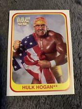 Hulk Hogan 1991 Merlin WWF 110 Rare WWE Trading Card