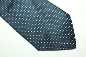 WHITE N'MORE Silk tie Made in Italy F18031