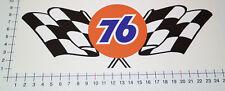 XXL UNION 76 GASOLINE Aufkleber Sticker Groß Speedshop Biker Style Flag V8 Big 1