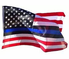 USA SELLER Thin Blue Line American Flag Police Lives Matters LEO 3x5 3ft by 5ft