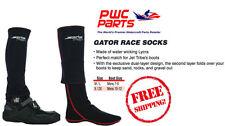 JETTRIBE Racing GATOR Race Socks PWC SeaDoo Yamaha Riding Gear Black JTG#10401