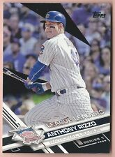 Anthony Rizzo - 2017 Topps Black League Leader #204 (04/66)