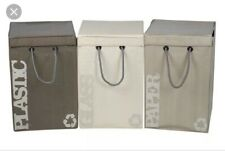 New Seletti Set Of 3 Polypropelene Recycle Bags by Selab $239