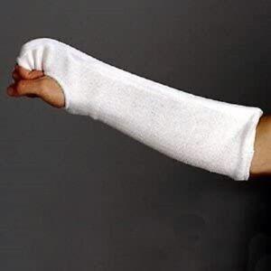 Proforce Combination Fist/Forearm Guard, Martial Arts/MMA, White, Multiple Sizes