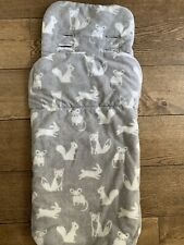 John Lewis Forest Friends Grey Cosytoes / Footmuff VGC