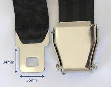 Commuter Plane Airplane Aeroplane Airline Seat Belt Strap Extension Extender
