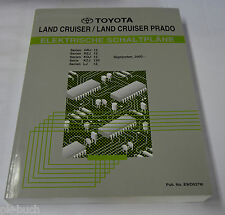 Werkstatthandbuch Elektrik Toyota Land Cruiser / Land Cruiser Prado, 2002