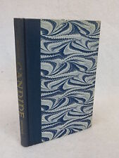 Voltaire CANDIDE Heritage Press with sandglass HC