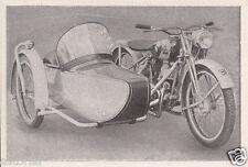 TORNAX K 125 - GESPANN * orig. Sammelbild * 1950