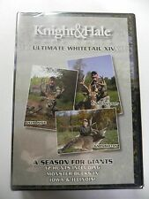 NIP Knight & Hale Ultimate Whitetail Season for Giants 14 DVD 12 HUNTS