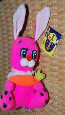 Dakin & Co Dream Pets Pappy Rabbit Neon Pink Collectible Plush Bunny #1568 NWT