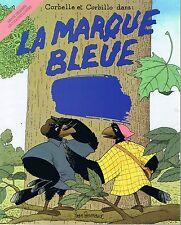 La Marque Bleue YVAN POMMAUX *  école Des Loisirs bande dessinée children's book
